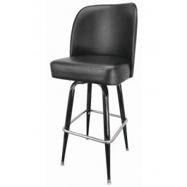 Large Metal Fullback Bar Stool