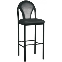 Metal Designer Back Bar Stool