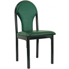 Metal Designer Back Chair