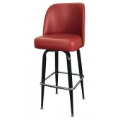 Metal Fullback Bar Stool