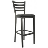 Metal Ladderback Bar Stool