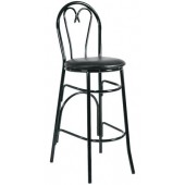 Metal Sweetheart Bar Stool