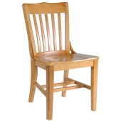 Wood Library Chair