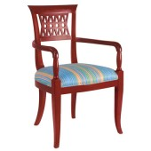 Wood Decorative Arm Chair