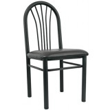 Metal Spokeback Chair