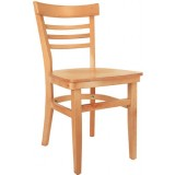 Wood Ladderback Chair